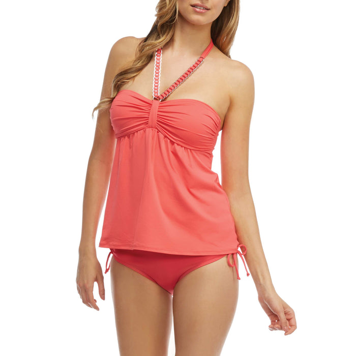 Beach House- Fly away tankini with bottom - sizes - Realforlesscorp