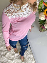 Lace Blouse Shirt - Realforlesscorp