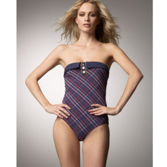MARC BY MARC JACOBS- Bandeau Plaid - Small - Realforlesscorp