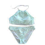 Gianni Bini - Flutter Mint Bikini Set or Seperates- - Realforlesscorp