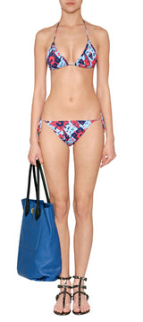 Marc By Marc Jacobs Women's Bones String Bikini in Rouge Red - Realforlesscorp