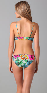 Marc by Marc Jacobs Havana Floral Cutout Maillot - Realforlesscorp
