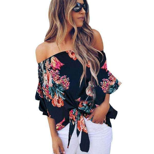 Emily Off Shoulder Top - Realforlesscorp