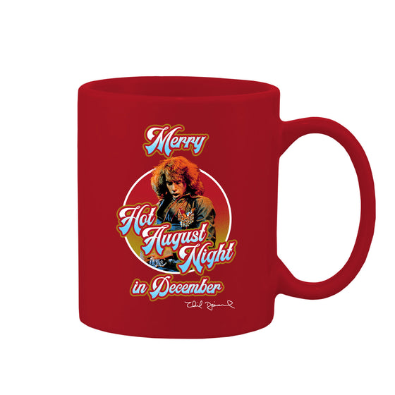 Hot August Night in December Red Coffee Mug