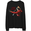 Happy Holidays Red Jacket photo long sleeve tee