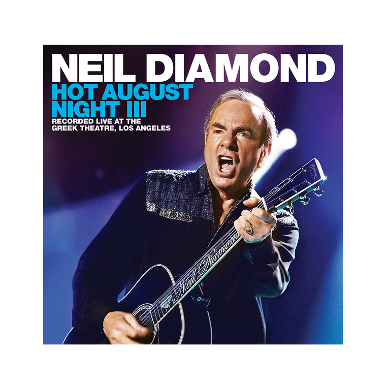 Hot August Night III 2 CD + DVD or Blu-ray - Neil Diamond