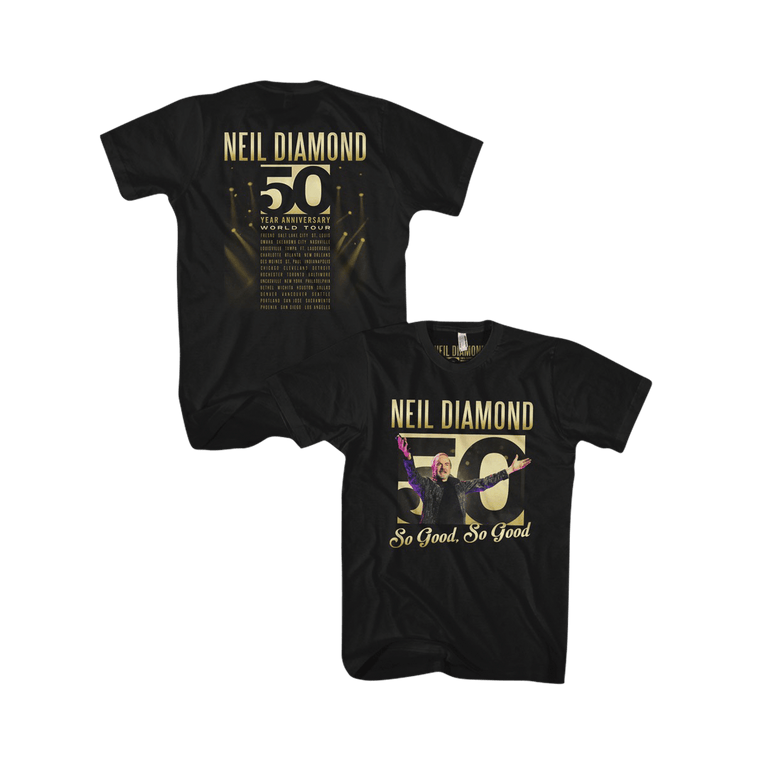 50th Anniversary Tour Tee - Neil Diamond