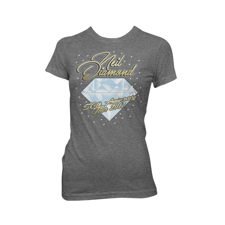 50th Anniversary Tour Women's T-shirt-Neil Diamond