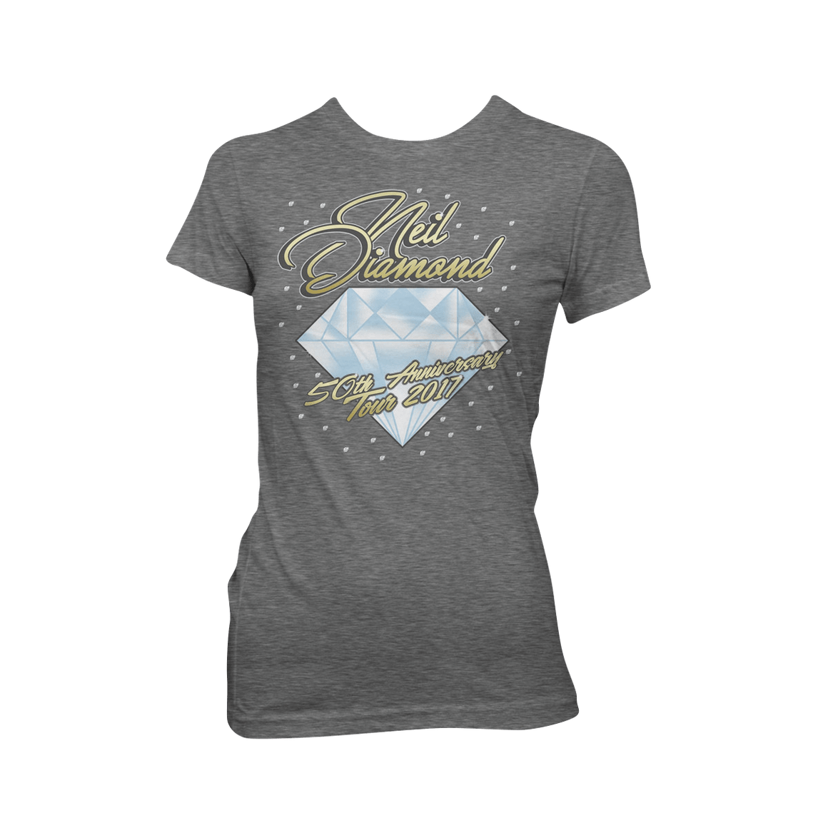 50th Anniversary Tour Women's T-shirt - Neil Diamond