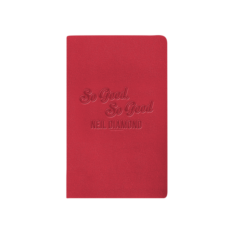 50th Anniversary Leather Journal - Neil Diamond