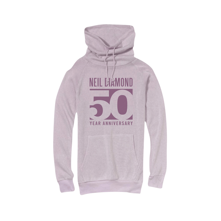 50th Anniversary Women's Lightweight Sweater-Neil Diamond