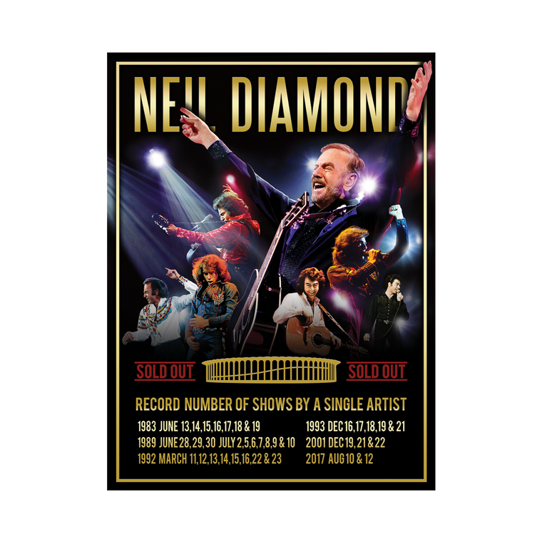 The Forum Event Poster - Neil Diamond