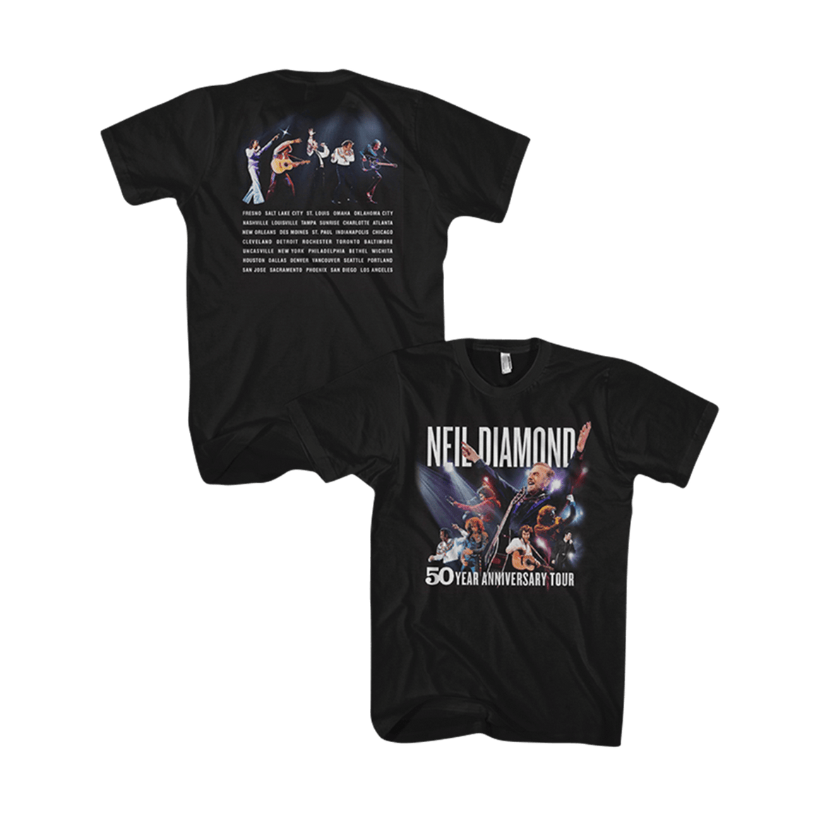 Photo Tour Tee-Neil Diamond