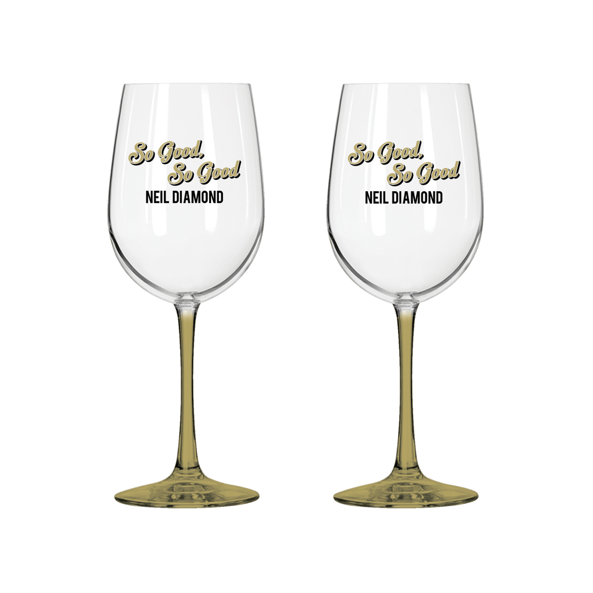 Wine Glass Set-Neil Diamond