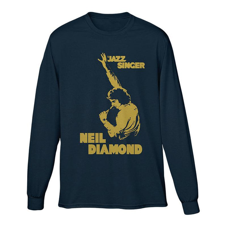 Jazz Singer Long Sleeve-Neil Diamond