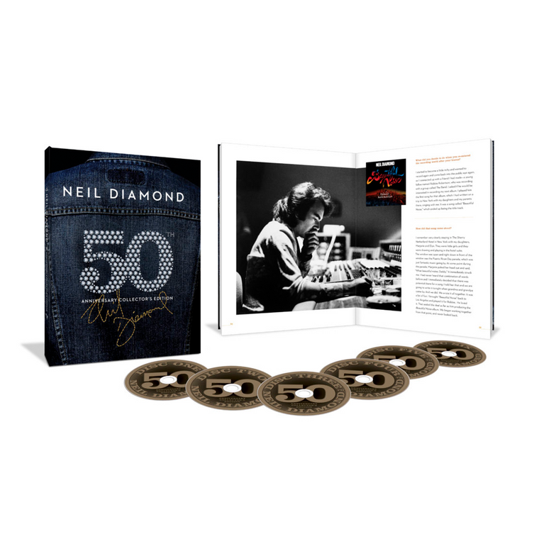 50th Anniversary Box Set - Neil Diamond