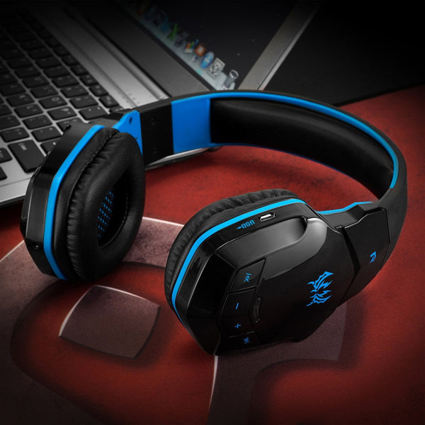 #10 KOTION EACH B3505 V4.1 Wireless Bluetooth Stereo Gaming Headphone With Mic Noise Canceling Headphones HD Sound