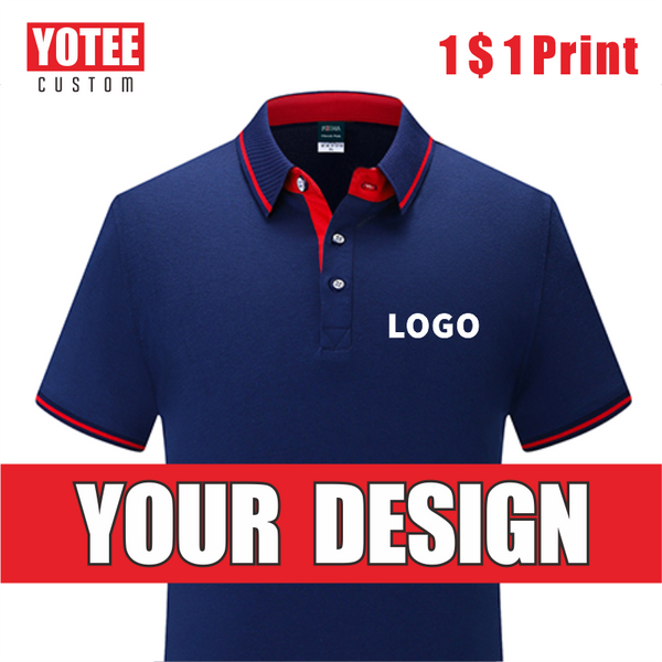 YOTEE 2020 summer multi-stylecustom breathable POLO shirt men's LOGO custom top
