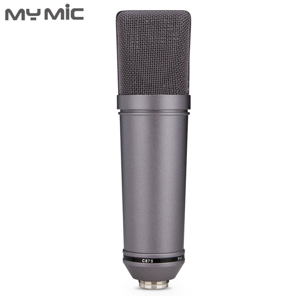 My Mic U87P good quality condenser Large Diaphragm recording studio microphone for broadcasting