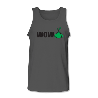 ButiGroove WOW LAU LAU Tank Top Charcoal