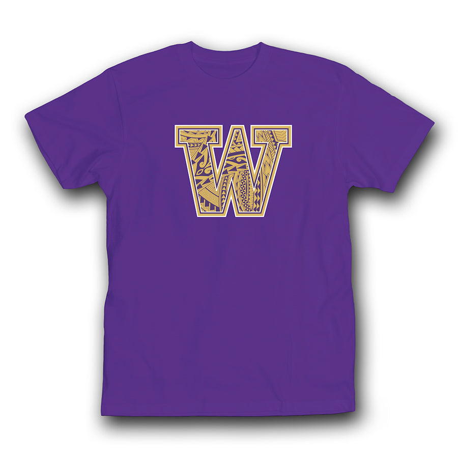 We Do It Island Style WA T-shirt Purple