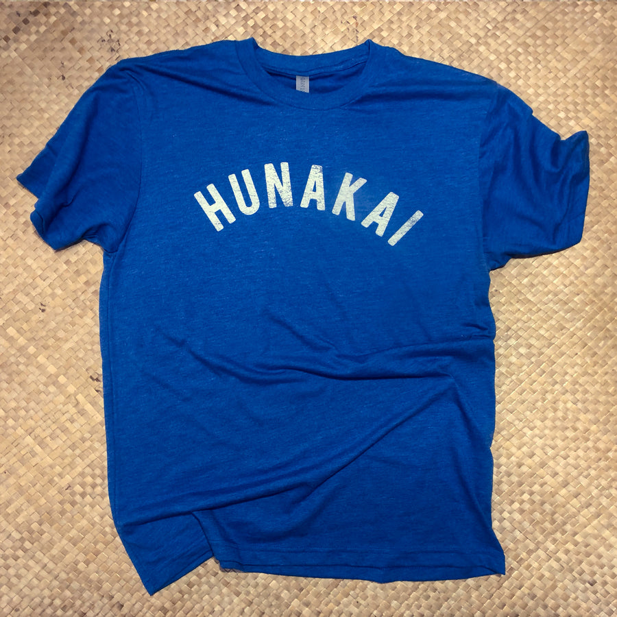 Hunakai T-shirt Vintage Royal