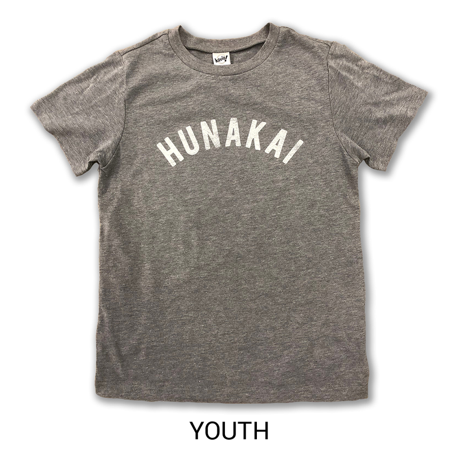 Hunakai Youth T-shirt Grey