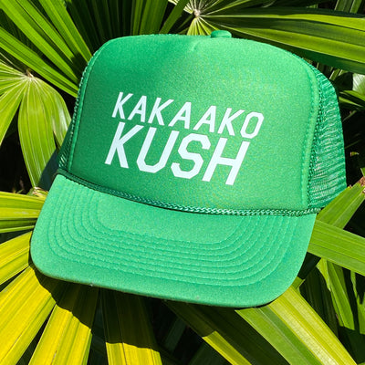 Kakaako Kush Kelly Green Trucker Hat