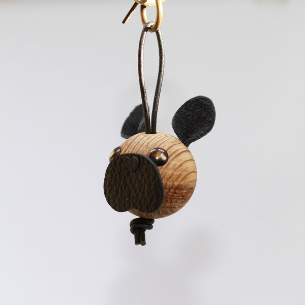 Unika: WOODEN Frenchie Charm (6)