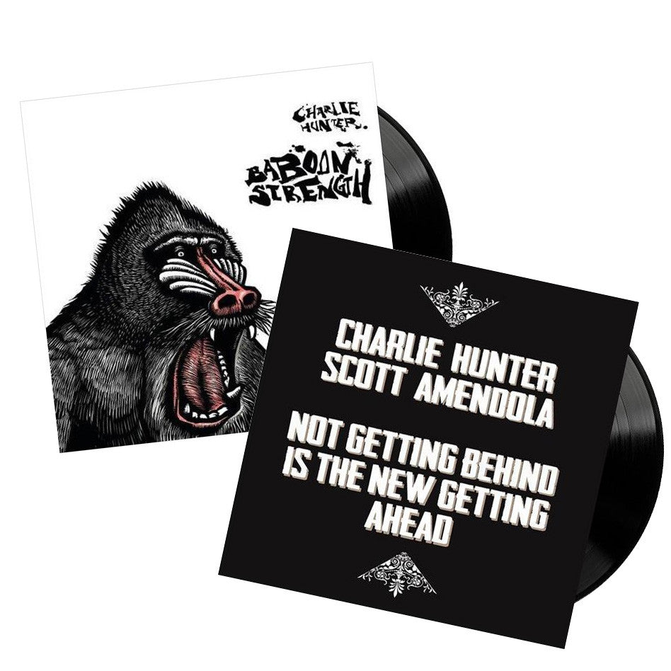 Baboon Strength and Not Getting Behind is the New Getting Ahead VINYL PRE-ORDER