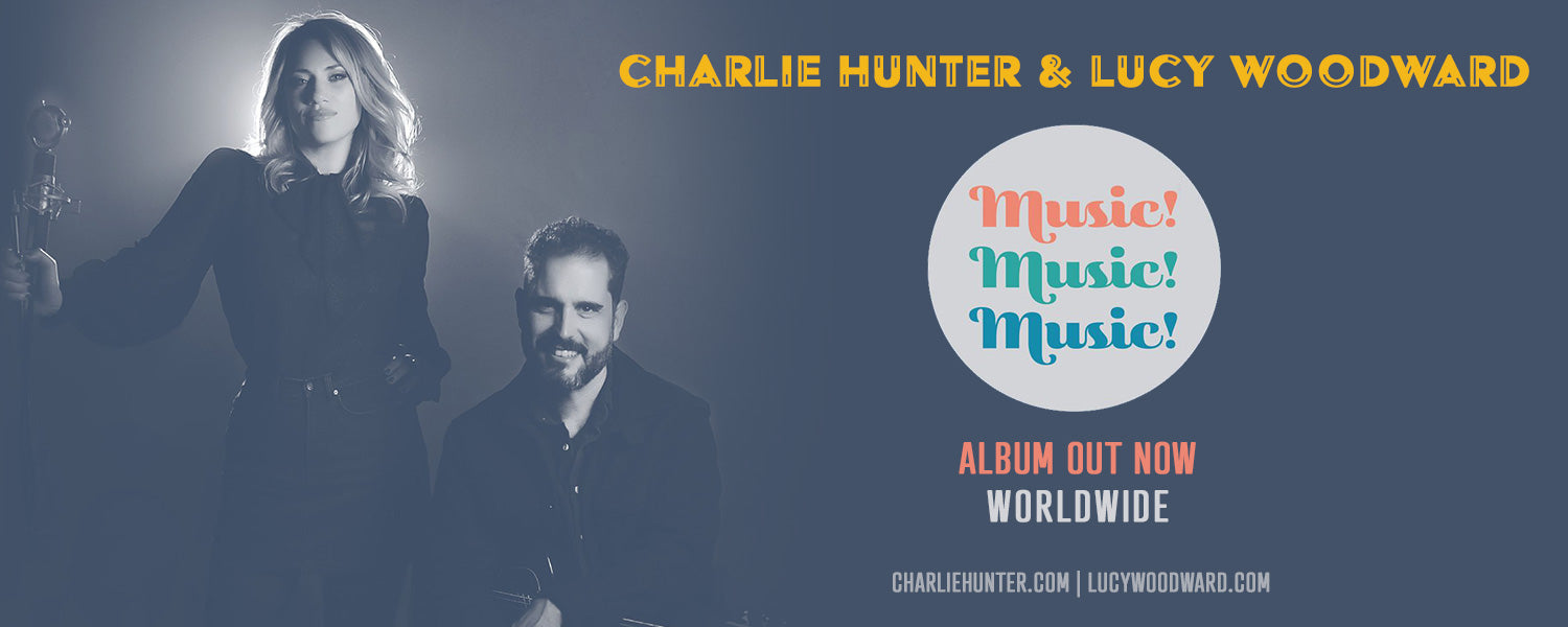 The Official Website and Online Store of Charlie Hunter – Charlie