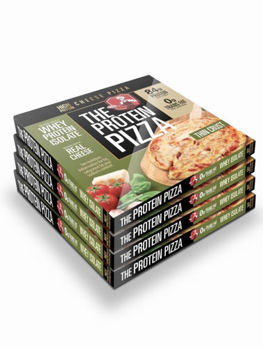 "Four Pack of 11"" inch 84g Protein Pizzas. Free Shipping."
