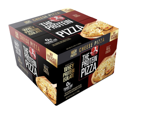 Free Shipping 3 boxes of 8inch 40g protein pizza.
