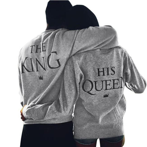 HIS QUEEN SWEATER