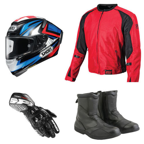 Rent Motorcycle Gear - Package