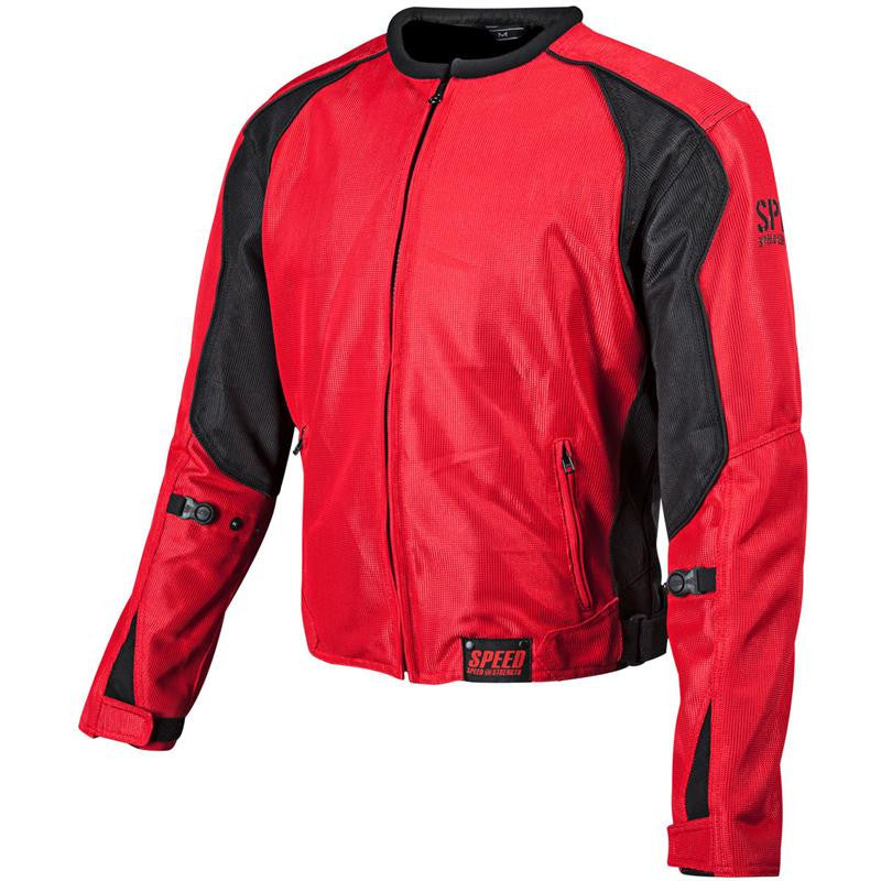 Speed and Strength Jacket - Red