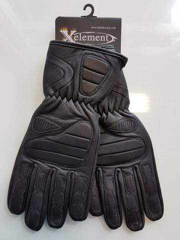 Xelement Guantlet Leather Padded