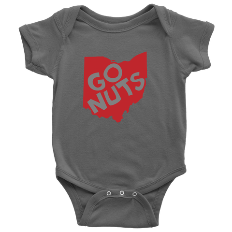 Go Nuts! OHIO - Onesie