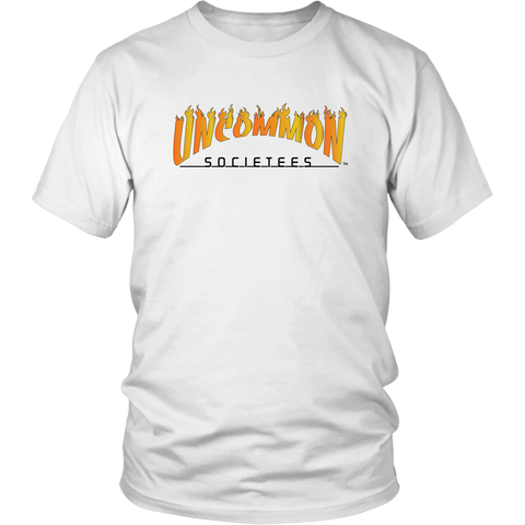 UnCommon SocieTees Flames Tee