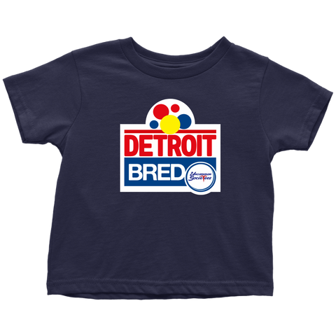 Detroit Bred® - Toddler Tee
