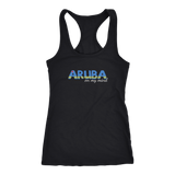 Aruba on my Mind - Ladies Racerback Tanktop