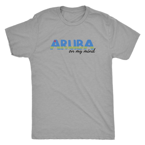 Aruba on my Mind - Mens Tri-Blend