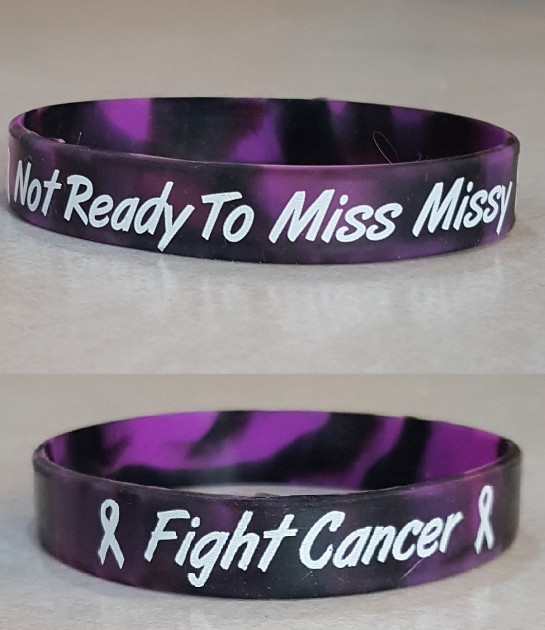 Fight Cancer Bracelet for Missy Wanke