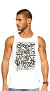Great Minds Think Different - Tanktop - White