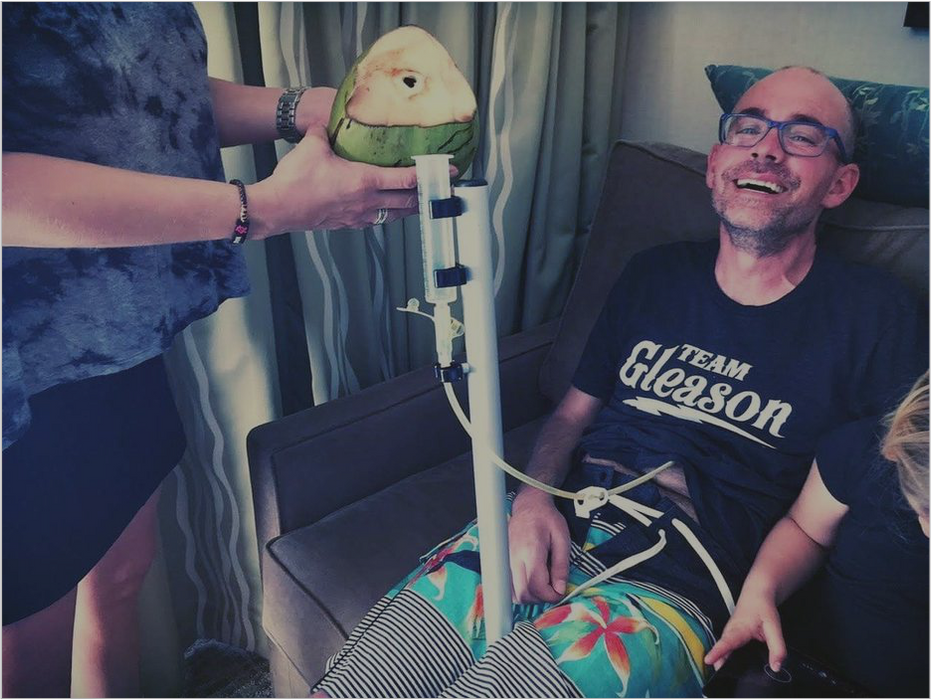 jay smith team gleason every 90 minutes feeding tube holder