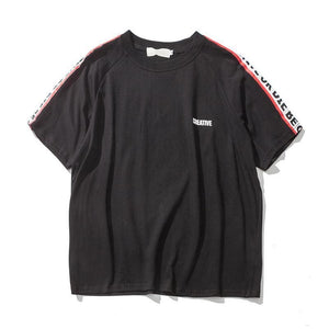 Creative T-Shirt - Black / Asia M / Us S