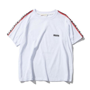 Creative T-Shirt - White / Asia M / Us S