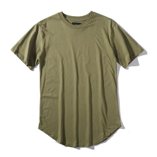 Hipfandi T-Shirts - Army Green / Asia L / Us S
