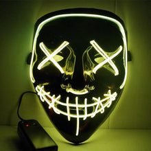 Load image into Gallery viewer, Led Power Mask - Smile - Yellow