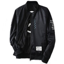 Load image into Gallery viewer, Levelz Bomber Jacket - Black / Asia M / Us Xs